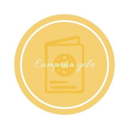 campaña publicitaria gold